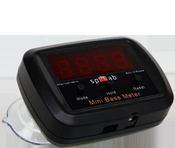 Mini Bass Meter – Sound pressure meter with voltmeter function