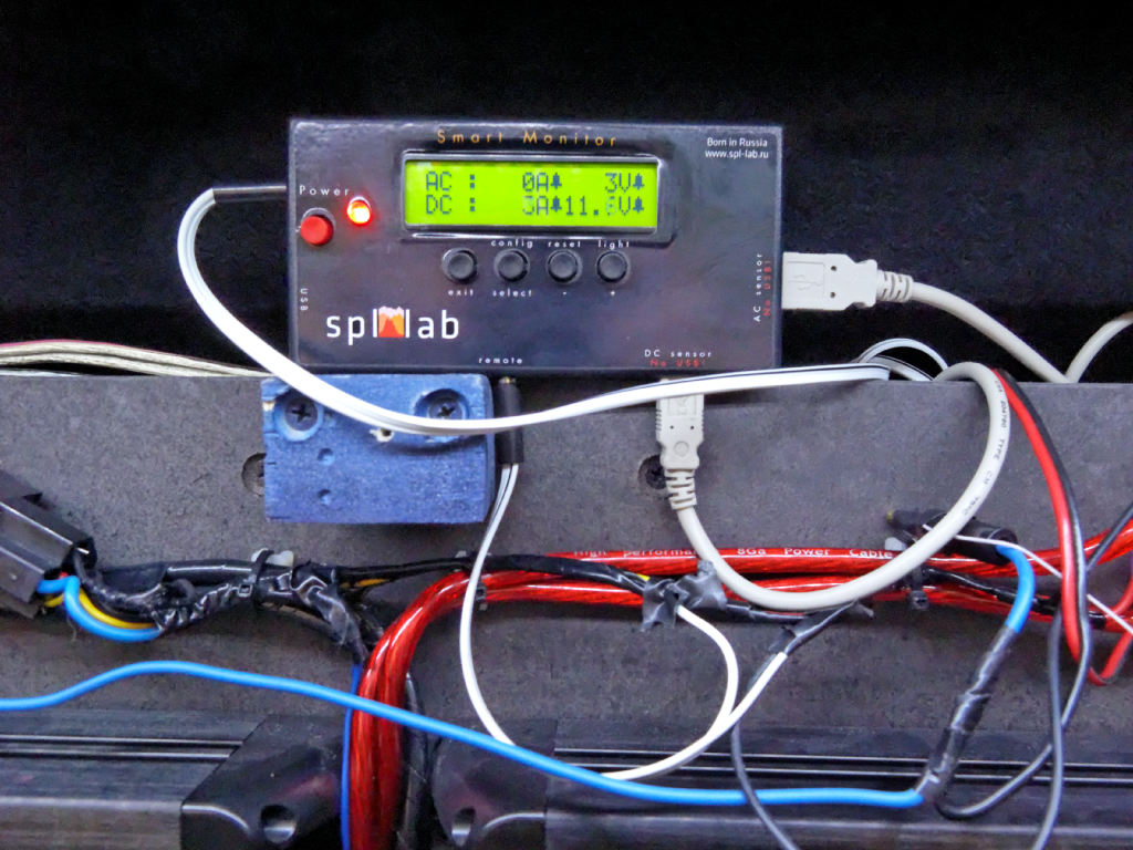 Spl-Lab Smart Monitor - car multimeter 8